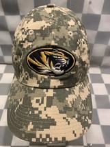 Missouri Mizzou Tigers University Nike Digi Camo Adjustable Adult Cap Hat - £8.82 GBP