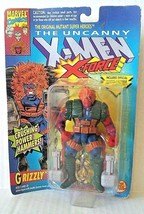 Toy Biz 1993 Uncanny X-Men Original Mutant X-Force GRIZZLY Crushing Powe... - $20.00