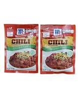 McCormick Gluten Free Chili Seasoning 1 oz - 2 Packs - Exp 4/01/2021 - $14.99
