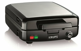 KRUPS Belgian Waffle Maker,, 4 Slices, Black, No Sales Tax, Free Shipping - €57,68 EUR