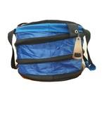 M&Ms Insulated Cooler Caramel Chiller Bag Cool Blue w Bottle Opener Stra... - $38.97