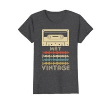 Funny Shirts - Vintage Retro Made In May 1946 72nd Birthday Gift 72 yrs ... - $19.95+