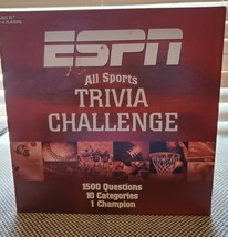 ESPN All Sports Trivia Challenge 2005 USAopoly Board Game MINT - $15.20