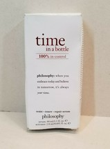 NEW Philosphy Time in a Bottle Resist Renew Repair Serum Activator 1.3 OZ - $29.99