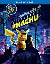 Pokemon Detective Pikachu  (Blu-ray + DVD, 2019)