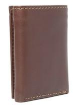Tommy Hilfiger Men's Logan Trifold Zipper Coin Credit Card ID Wallet 31TL110018 image 2