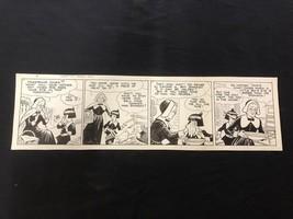Fred Fox Original Daily Comic Strip Art #8- unpublished? - $81.97