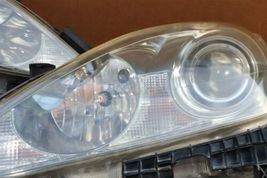06-08 Lexus iS250 iS350 Halogen Headlight Lamps Set Left Right L&R POLISHED image 6