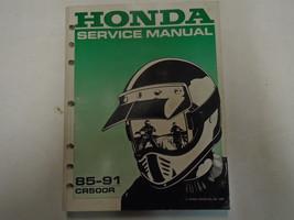 1985-1991 Honda CR500R Service Repair Shop Manual FACTORY OEM Book Used - $53.45