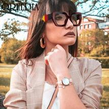Fashion Polygonal Glasses Frame Women European And American Three-Color Frame Fl image 3