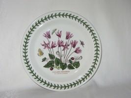 Portmeirion Vintage Botanic Garden Dessert Bread Plate Cyclamen Repandum 1972 - $21.03