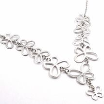 Necklace Silver 925, Row Of Butterflies, By Maria Ielpo , Made IN Italy image 3