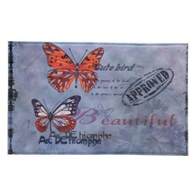 Porch Welcome Mat, Artistic Butterfly House Modern Decorative Indoor Wel... - $23.19