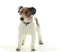 Hagen Renaker Dog Jack Russell Terrier Ceramic Figurine - $8.96