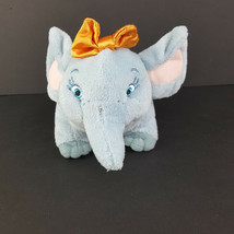 Disney Junior Doc McStuffins Hazel Plush Elephant Orange Bow Stuffed Animal - $12.86