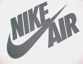 Nike Air Swoosh 82 White Black Heavyweight Cotton Basketball Jersey 2XL - $39.59