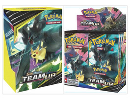 Pokemon Team Up Booster Box + Build & Battle Box Prerelease Kit Bundle - $124.95