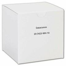 DataComm Electronics 20-3425-WH-10 CAT-5E Jacks, 10 Pack (White) - $34.85