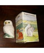 WADE England OWL WHIMSIE-LAND SET 4 HEDGEROW Series Vintage 1986 - $39.59
