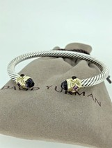 $1,100 DAVID YURMAN Renaissance 5mm Cable Classic Amethyst Bracelet 14k - $699.99