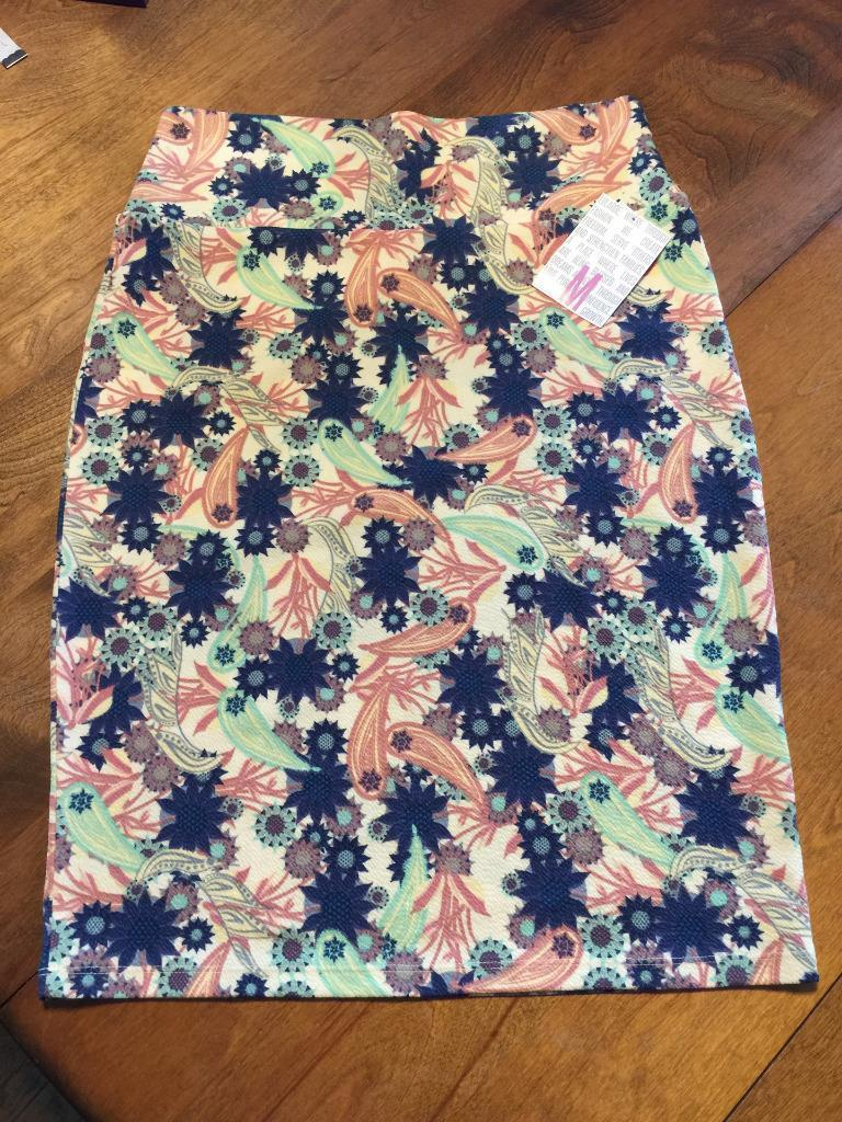 1fbf06b38a Lularoe Cassie Floral Paisley Print Pencil and 42 similar items. S l1600