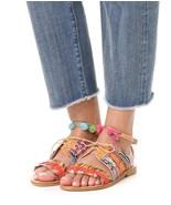 NEW $275 ELINA LINARDAKI Hula Hoop Sandal sz 36 / 6 - $90.08