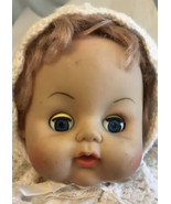 """Vintage Collette Toy And Novelty  Doll K18TME 15 EYE 17"""" Tall Vinyl And ... - $14.85"""