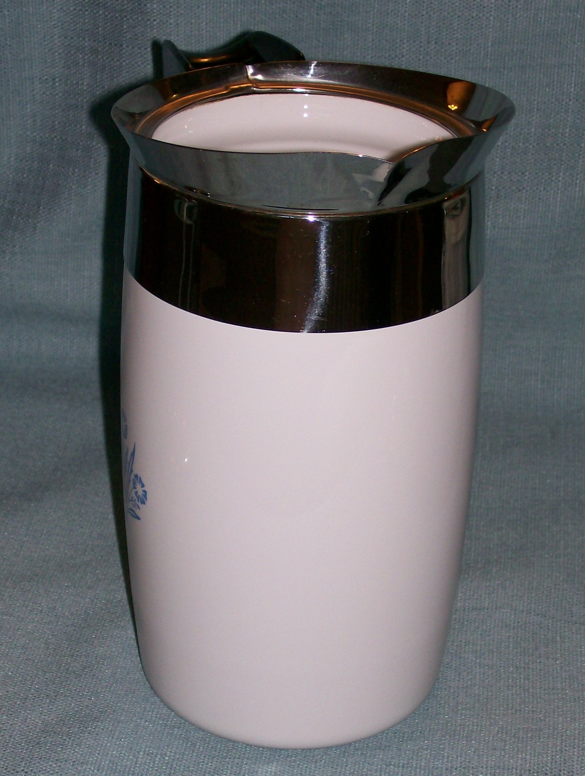 Corning Ware BLUE CORNFLOWER Electric Coffee Pot/Percolator 6 cup P-6-EP VGVC  image 3