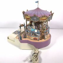 Great American Musical Merry Go Round Carousel Corded Novelty Phone Wind Up image 7