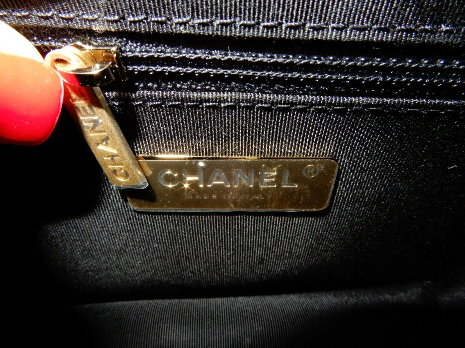 Chanel Small Black Calf Leather Chain Classic Flap Bag GHW New 2019