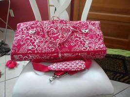 Vera Bradley Twirly Bird Pink Garment bag EUC - $99.00