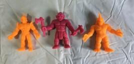 """Vintage 1980 M.U.S.C.L.E. Men Action Figures 1.75"""" Mattel 80's Toys - £4.58 GBP"""