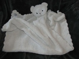 Baby Soft Chenille Scallop Blanket Security Lovey Cream Ivory White Tedd... - $59.39