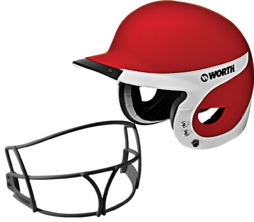 Worth Liberty Away Helmet with Mask (Scarlet)