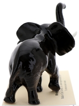 Hagen-Renaker Miniature Ceramic Wildlife Figurine African Elephant Mama and Baby image 3