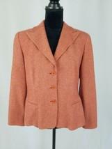 Giorgio Armani Borgo 21 women 50 blazer wool cashmere blend hloundstooth... - $89.10
