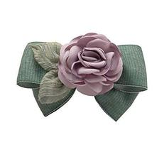 Elegant Flowers Pattern Hair Clip Bowknot Hair Barrette Headdress 1 piec... - $312,84 MXN
