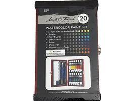 Master's Touch-Fine Art Studio-Watercolor Paint Set-Includes 20 Pieces #312686