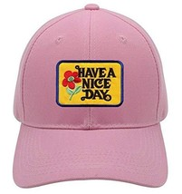 Have A Nice Day Hat - Pink Adjustable Cap - $17.05