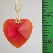 Swarovski Crystal Faceted Heart Prism image 2