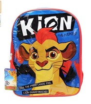 Large Backpack for school, lion guard disney stain resistant - $14.03