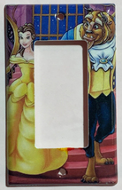 Beauty and the beast Light Switch Outlet duplex wall Cover Plate Home Decor image 3