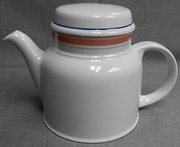 1984 Royal Doulton DUSTY ROSE PATTERN 6 Cup TEAPOT England - $29.69