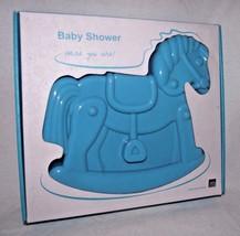Pavonidea Silicone Cake Mold Rocking Horse Baby Shower Children Recipe NEW - $29.69