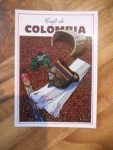 Old or Vintage Photo Postcard Cafe de Colombia Colombian Coffee Coffe No... - $9.99