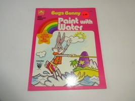 VTG 1980 Golden Paint with Water Bugs Bunny Water Skiing Coloring Book U... - $16.04