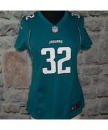 Jacksonville Jaguars #32 Jones-Drew Women's  NFL Jersey- Green Medium - £14.16 GBP