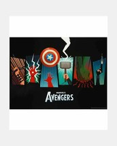 "Marvel's The Avengers Set of 4 Posters 18"" x 24"" Thor Hulk Iron Man-Brand NEW - $25.72"