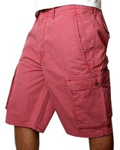 NEW NWT LEVI'S MEN'S COTTON CARGO SHORTS ORIGINAL RELAXED FIT PINK 12463-0037