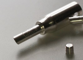 CMC Swiss solderless speaker banana plug heavy duty silver-plated 1 pair !! - $12.19
